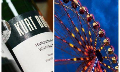 Weinprobe auf dem Riesenrad